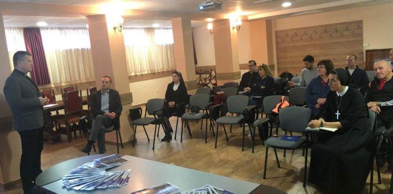 Medijska radionica Hrvatskog Caritasa za mrežu nad/biskupijskih Caritasa