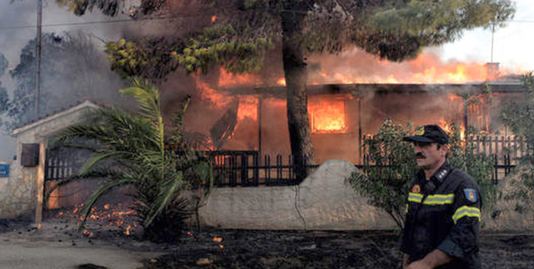 Pomoć stradalima u požaru u Grčkoj