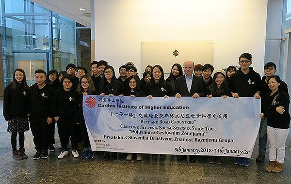 Studenti iz Hong Konga posjetili Hrvatski Caritas