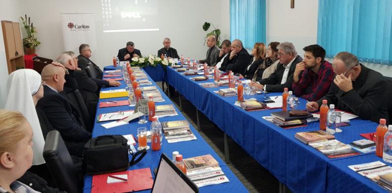 Susret ravnatelja Caritasa iz Hrvatske i Bosne i Hercegovine u Mostaru