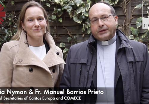 Caritas Europa i COMECE