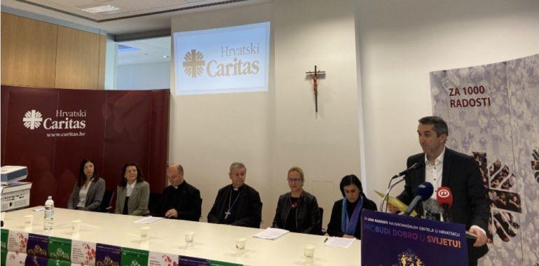 """Uoči """"Nedjelje Caritasa"""" predstavljen nacionalni program Hrvatskog Caritasa """"Za 1000 radosti – probudi dobro u svijetu"""""""