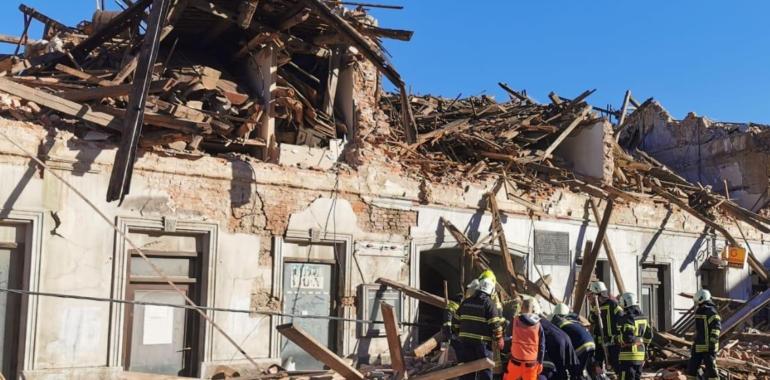 Potres u Petrinji, Sisku i Glini