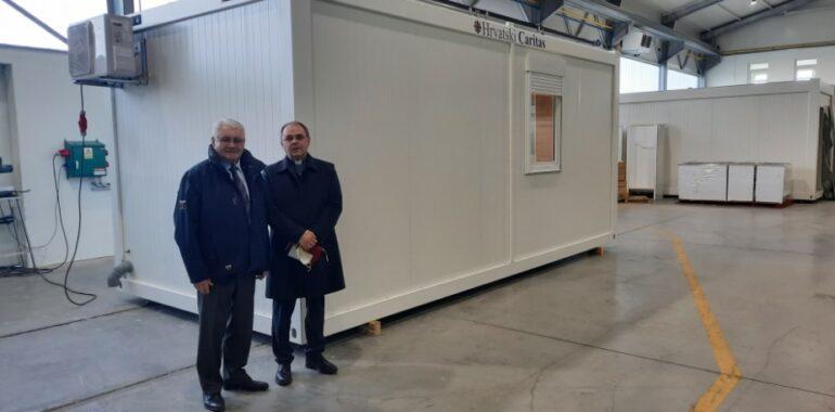 Prvi stambeni modul Hrvatskog Caritasa za stradale u potresu spreman za dostavu