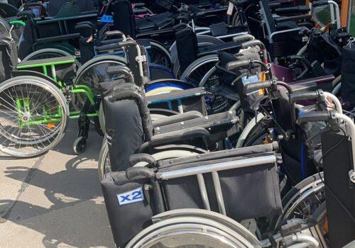 Donacija invalidskih kolica suverenog malteškog reda